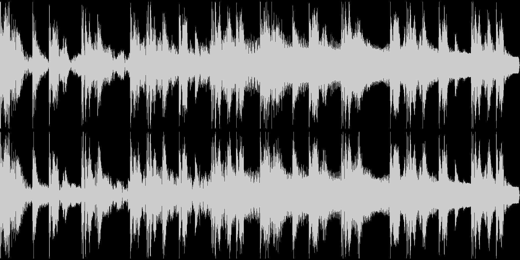 【エレクトロニカ】ロング3、ショート2の未再生の波形