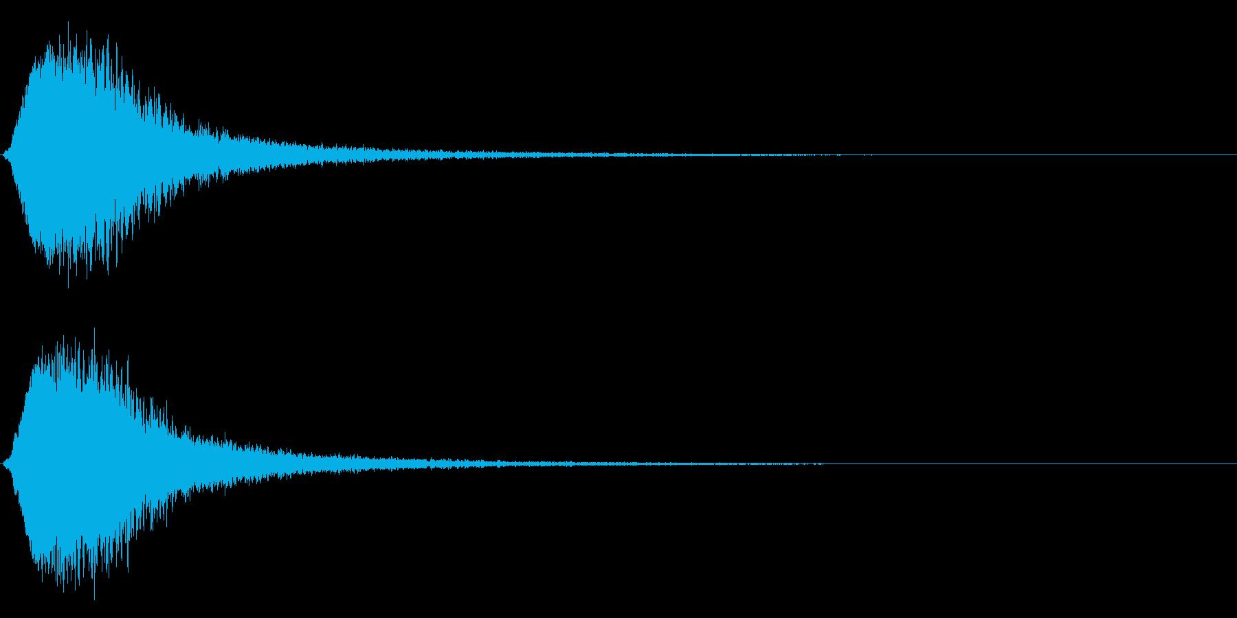 キラン☆シャキーン/派手なインパクト3vの再生済みの波形