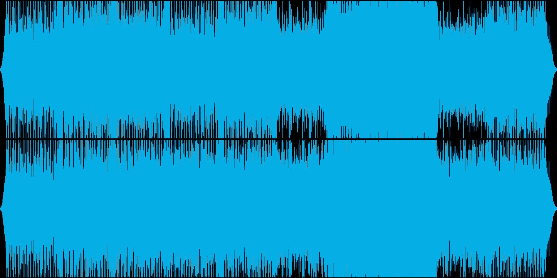 ポップ テクノ ロック モダン 実...の再生済みの波形