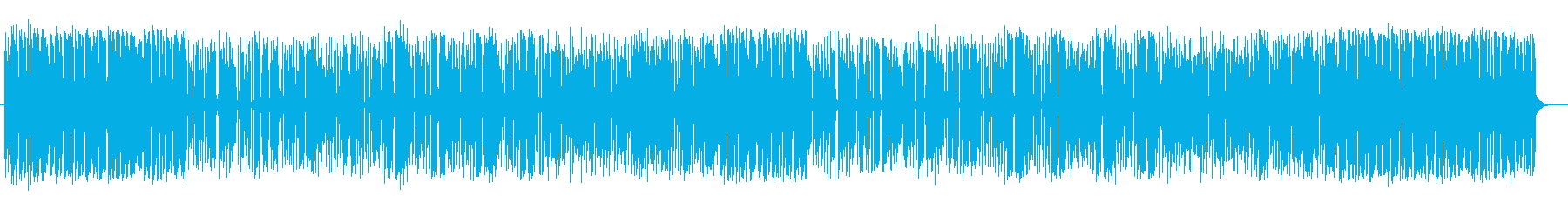 Music with uptempo and momentum's reproduced waveform