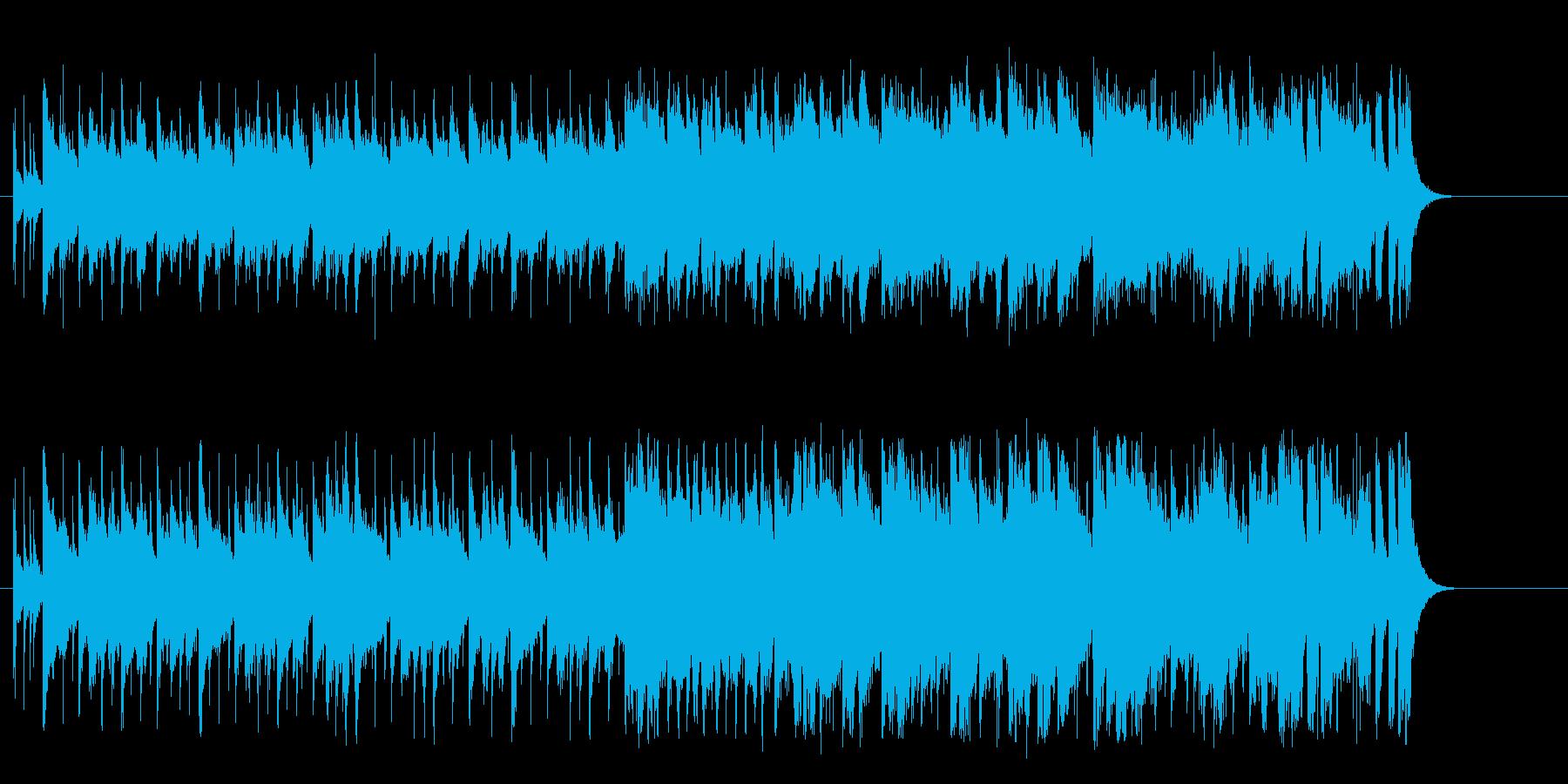 シャッフル感のアコースティック・ポップの再生済みの波形