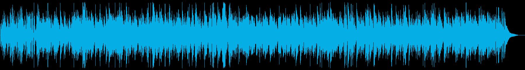 Big old clock bossa nova arrangement's reproduced waveform