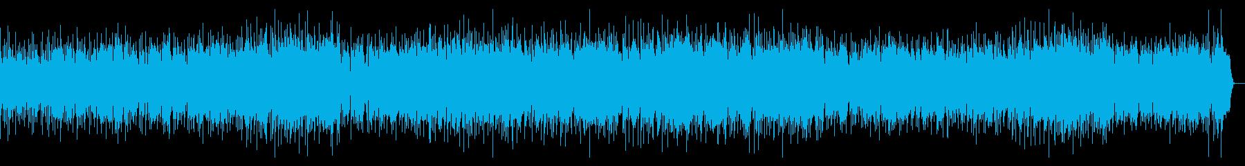 暑さを吹き飛ばすBGMの再生済みの波形