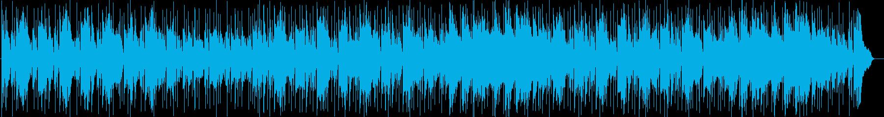 情報番組BGMシンセサイザーポップスの再生済みの波形
