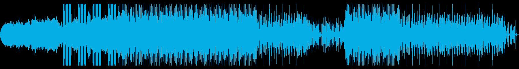 飛び交う情報の再生済みの波形