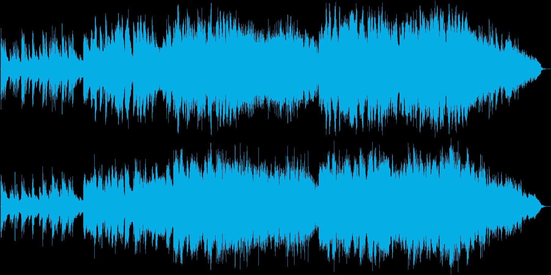 クラリネットが印象的な山田耕筰の赤とんぼの再生済みの波形