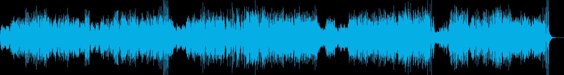 ベートーベン/バイオリンソナタ8–3の再生済みの波形