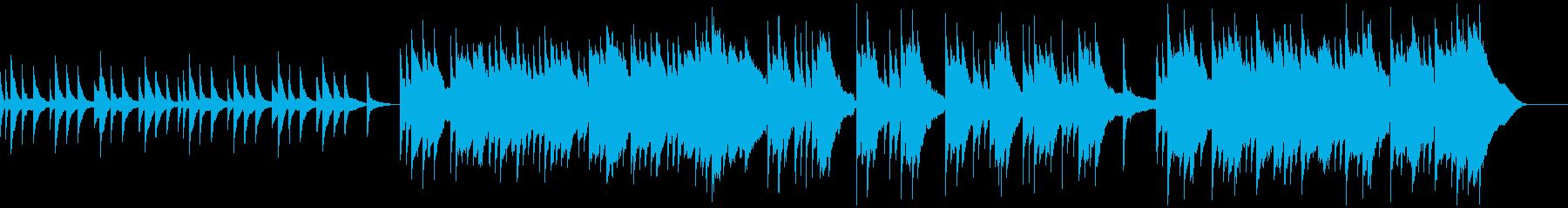 ピアノによる悲しい曲 の再生済みの波形