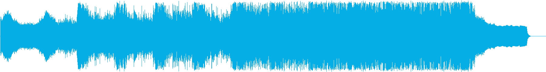 トレーラー、シネマティックの再生済みの波形