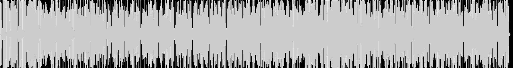 ほのぼの・日常・おしゃれBGM シンセの未再生の波形