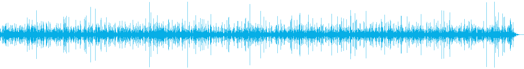 水の滴る音【ピチャピチャ】4の再生済みの波形