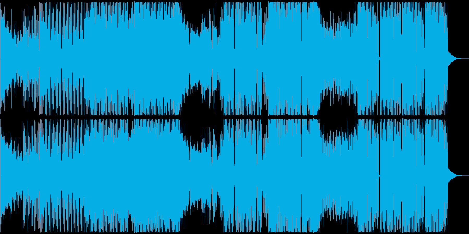 クラブ・フェスに最適なシンプルなEDMの再生済みの波形