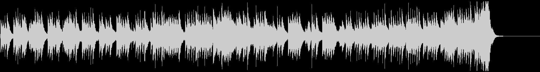 琴の音色がゆったりと和む、壮大な和風曲の未再生の波形