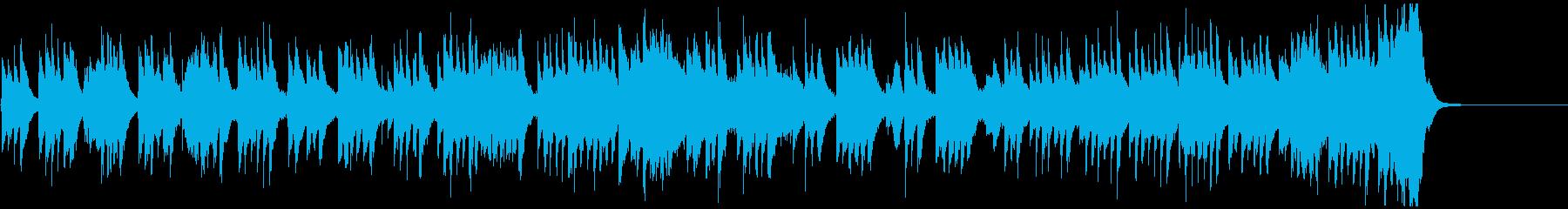 琴の音色がゆったりと和む、壮大な和風曲の再生済みの波形