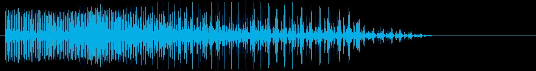 時間・重力系魔法#2の再生済みの波形