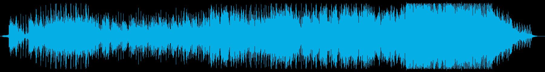 冬と春の淡い和テイストバラードの再生済みの波形