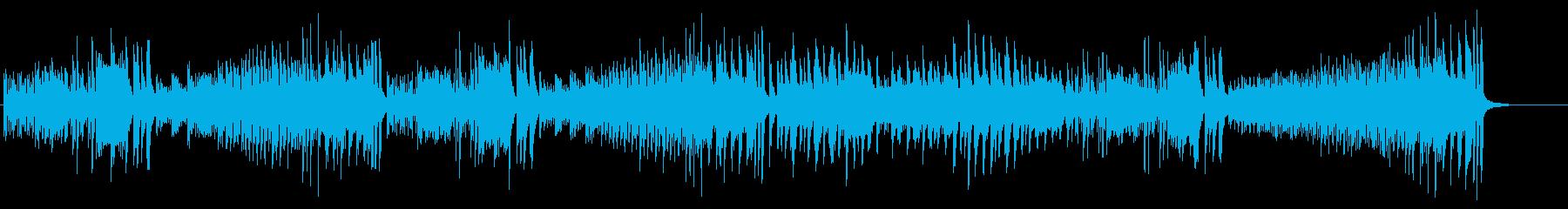 なんか変な感じのピアノ曲(2台ピアノ)の再生済みの波形