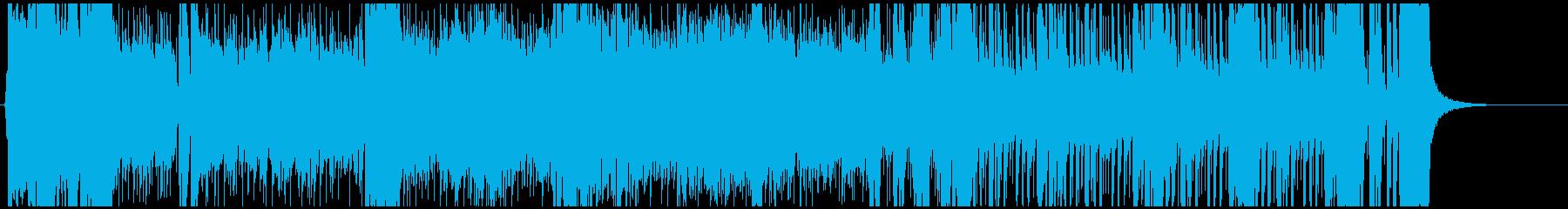 逆転勝利、形勢逆転の明るいBGMの再生済みの波形