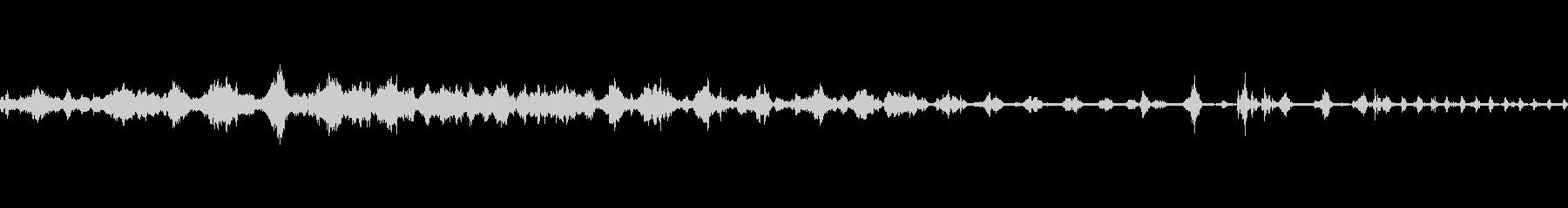 ライオンのar音グループの未再生の波形