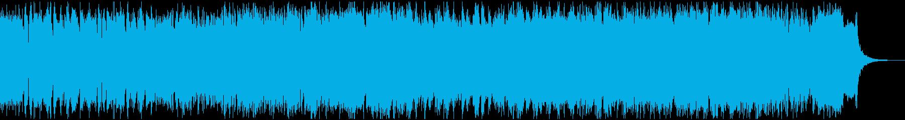 テクニカルでエモーショナルなマスロックの再生済みの波形