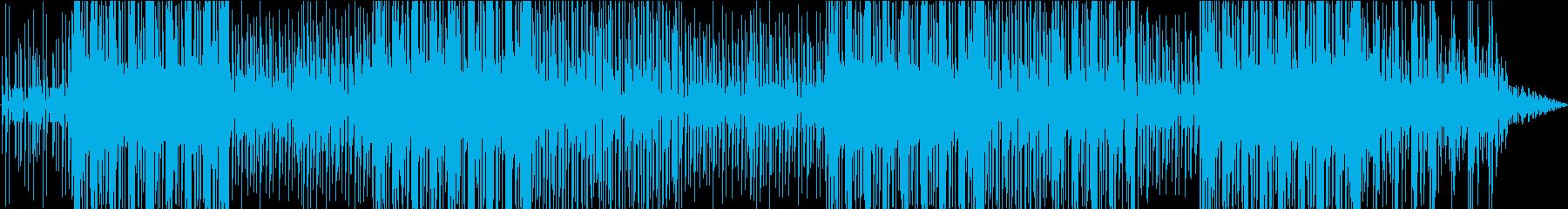 ファンキーでポップなラテン系ミュージックの再生済みの波形
