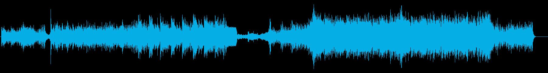TITAN メロディーなしVerの再生済みの波形