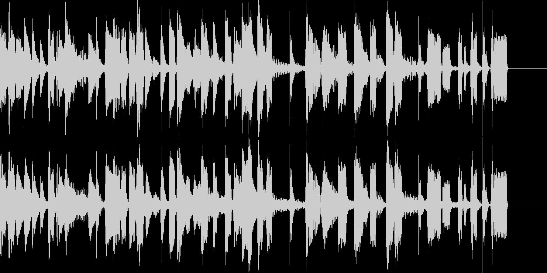 クールなピアノのジングルの未再生の波形