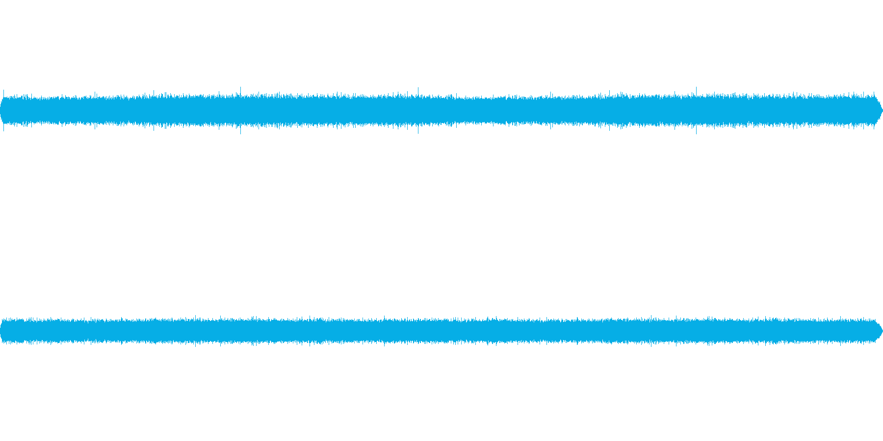 滝音~中くらいの滝 遠くから【生録音】の再生済みの波形