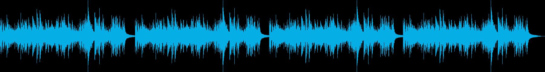 ほのぼの生音ギターだけのアンサンブル#2の再生済みの波形