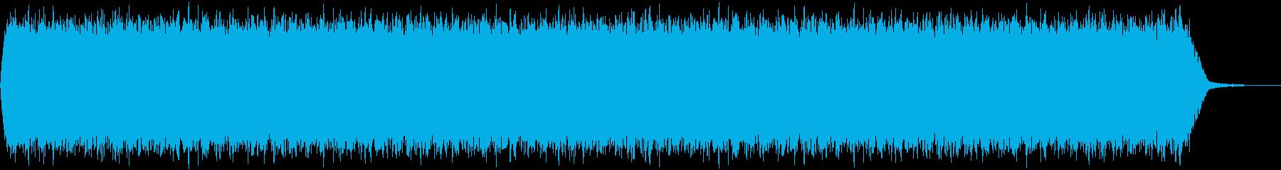 【アンビエント】ドローン_11 実験音の再生済みの波形