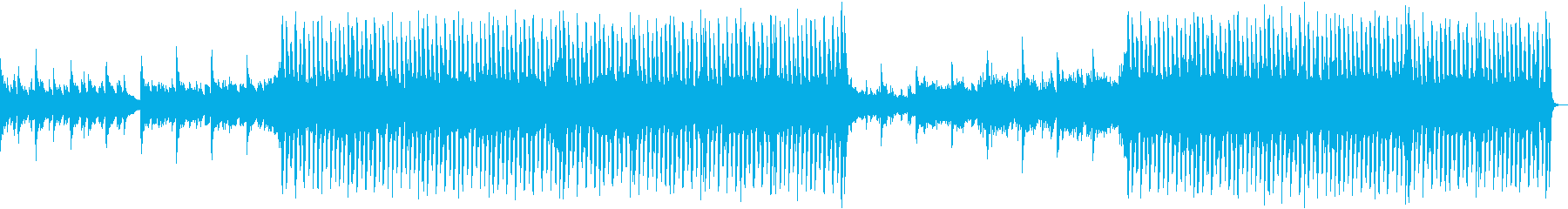 Refreshing acoustic guitar dance's reproduced waveform