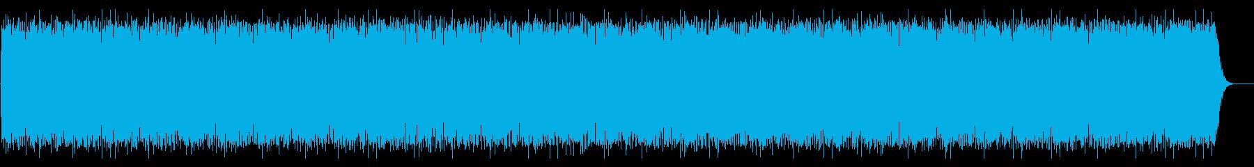 アフリカンな太鼓のリズム(リズムのみ)の再生済みの波形