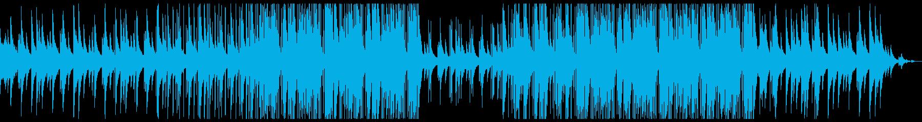 切ない 情緒 トラップビートの再生済みの波形