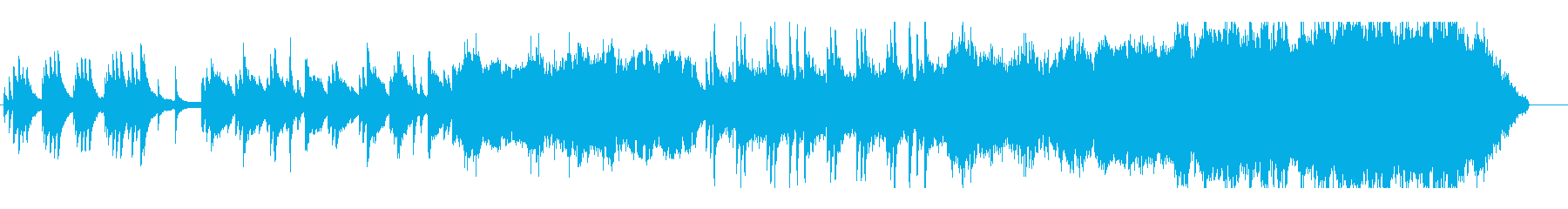 切なく感動的なピアノオーケストラバラードの再生済みの波形