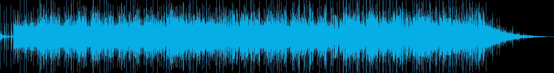爽やかなバンドサウンドの洋楽風ポップスの再生済みの波形