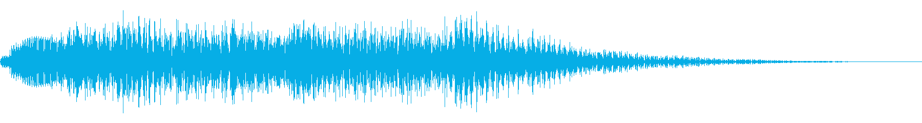 木琴アルペジオの再生済みの波形