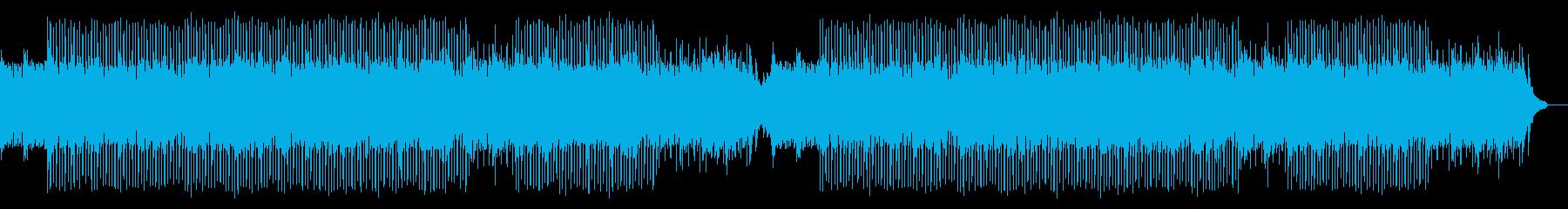 ポジティブで軽快/希望に満ちた曲_1の再生済みの波形