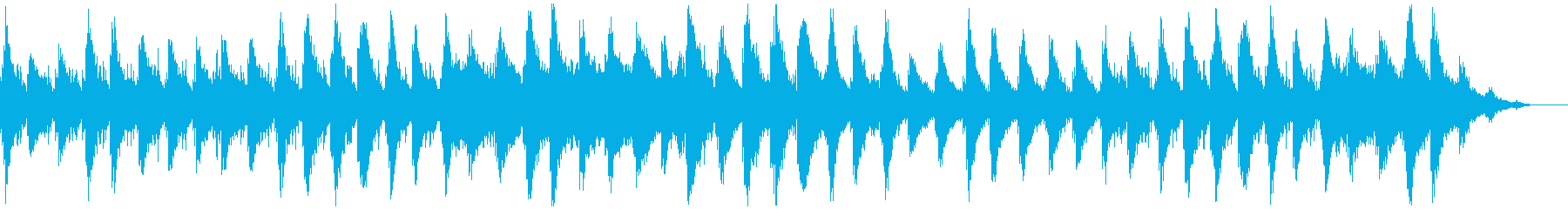 瞑想やヨガ、睡眠誘導のための音楽 03の再生済みの波形