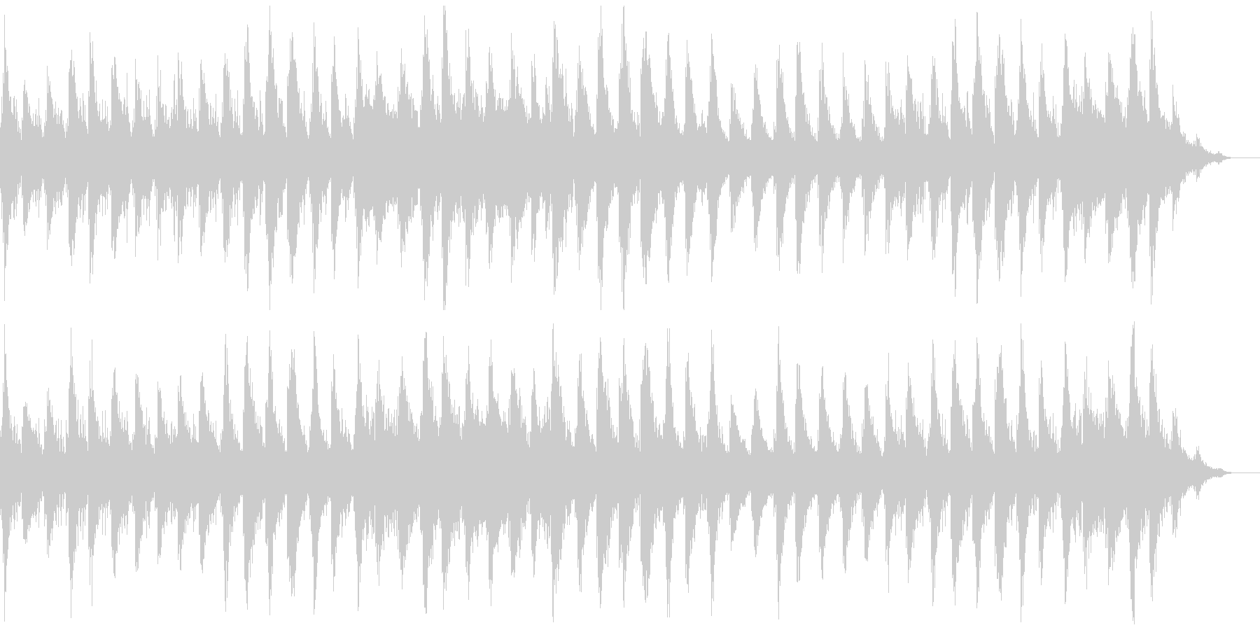瞑想やヨガ、睡眠誘導のための音楽 03の未再生の波形
