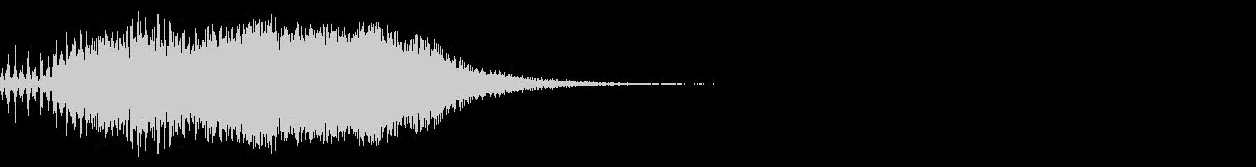 スパーク音-07の未再生の波形