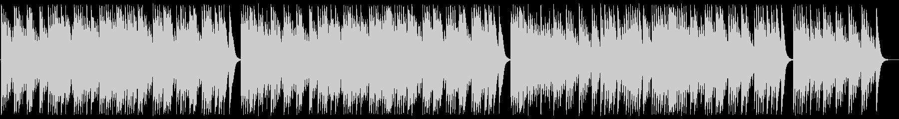 柊と蔦は オルゴールの未再生の波形