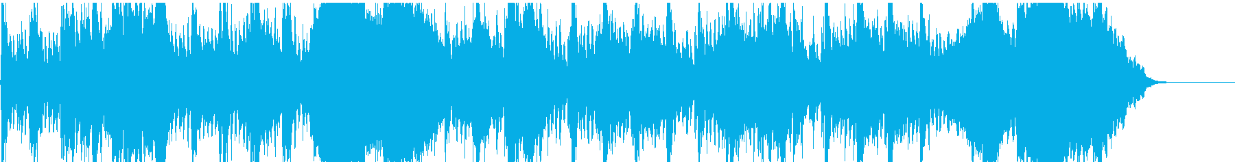 始まりを予感させるオーケストラの再生済みの波形