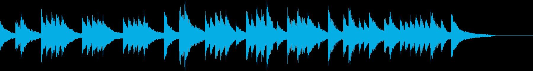 低音の響きを生かした懐しいピアノジングルの再生済みの波形