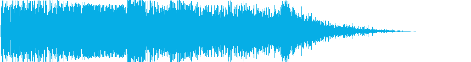 【爆発】 19 戦争 爆撃 激しいの再生済みの波形