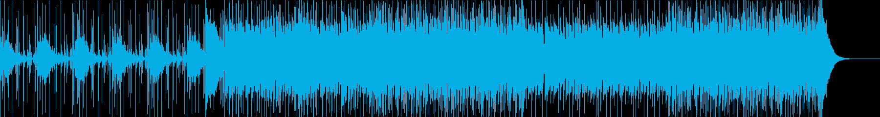 脈打つようなテクスチャー、不気味な...の再生済みの波形