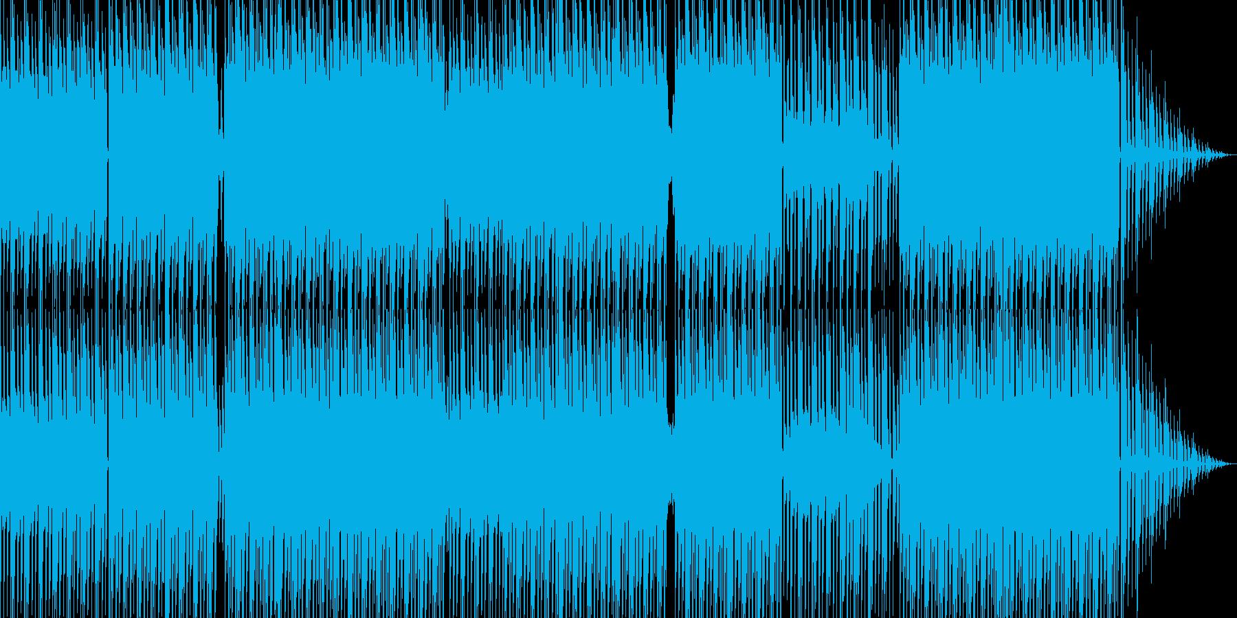 不安を感じるミニマルテクノの再生済みの波形