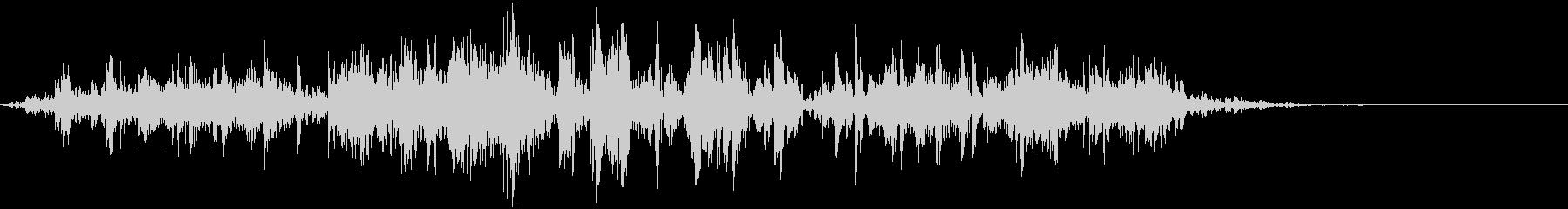 鎖を動かす音8【長い】の未再生の波形