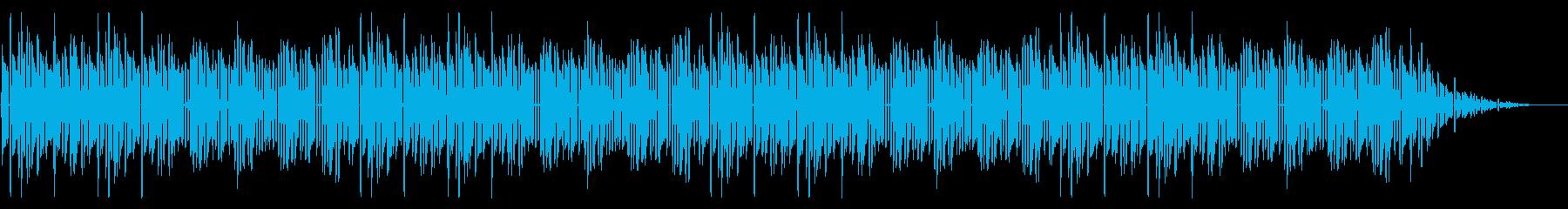GB風レースゲームのタイトル曲の再生済みの波形