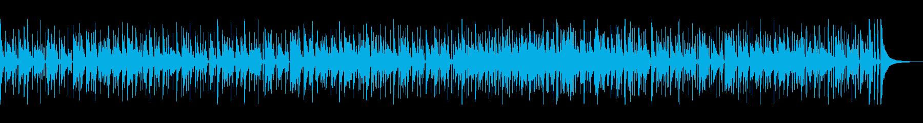 ゆったりしっとり、大人な雰囲気のボサノバの再生済みの波形