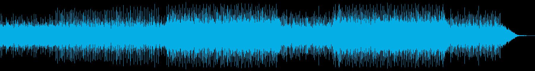輝く未来 テクノ シンセ キラキラの再生済みの波形